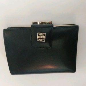 GIVENCHY genuine leather bi-fold wallet! Vintage